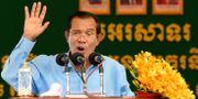Premiärminister Hun Sen.  TANG CHHIN SOTHY / AFP