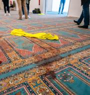PST/Arkivbild från terrordåd mot moské i norska Bærum. TT