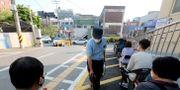Sydkoreanska tester för covid-19. Ahn Young-joon / TT NYHETSBYRÅN