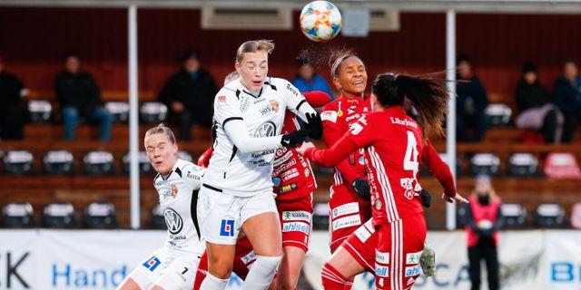 Match mellan Kungsbacka och Piteå. Pär Bäckström/TT / TT NYHETSBYRÅN