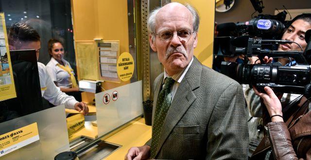 Riksbankschef Stefan Ingves. Anders Wiklund/TT / TT NYHETSBYRÅN