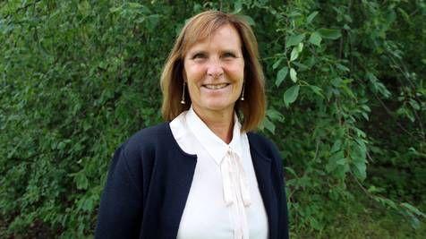 Dolores Kandelin Mogard på Akademikerförbundet SSR. Sanna Rundqvist