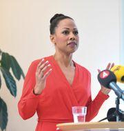 Kultur- demokratiminister Alice Bah Kuhnke (MP). Henrik Montgomery/TT / TT NYHETSBYRÅN