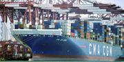 Illustration: Kinesiskt fraktfartyg. TT