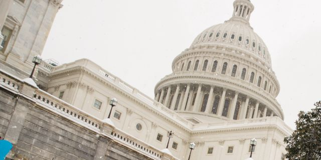 Capitolium i Washington. Alex Brandon / TT NYHETSBYRÅN/ NTB Scanpix