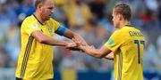 Andreas Granqvist och Viktor Claesson. IVAN ALVARADO / BILDBYR N