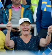 Fotbollssupportrar.  Janerik Henriksson/TT / TT NYHETSBYRÅN