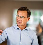 M-ledaren Ulf Kristersson. Pontus Lundahl/TT / TT NYHETSBYRÅN