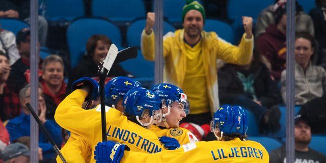 Sverige klart for semifinal i jvm