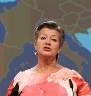 EU-kommissionär Ylva Johansson. Olivier Hoslet / TT NYHETSBYRÅN