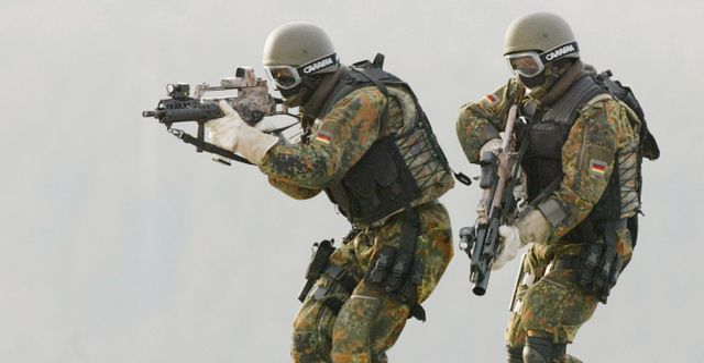 Arkivbild: KSK-soldater Thomas Kienzle / TT NYHETSBYRÅN