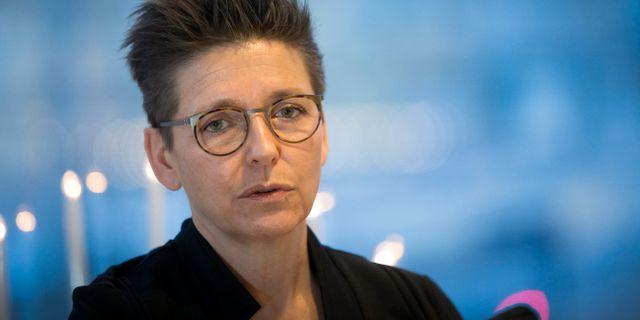 Kommunstyrelsens ordförande Ann-Sofie Hermansson (S) Björn Larsson Rosvall/TT / TT NYHETSBYRÅN