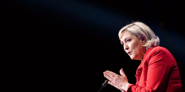 Marine Le Pen (arkivbild).  Kamil Zihnioglu / TT / NTB Scanpix