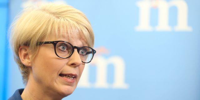 Elisabeth Svantesson (M). Arkivbild.  SÖREN ANDERSSON / TT / TT NYHETSBYRÅN