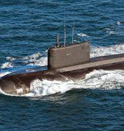 En ubåt av Kiloklassen, arkivbild. LA(Phot) Guy Pool / Royal Navy / Wikimedia
