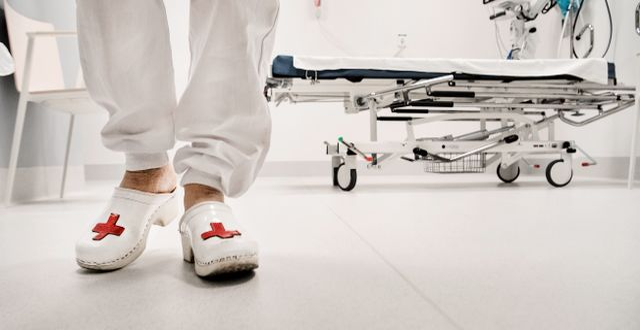 Arkivbild. Sjukhuspersonal.  Tomas Oneborg/SvD/TT / TT NYHETSBYRÅN