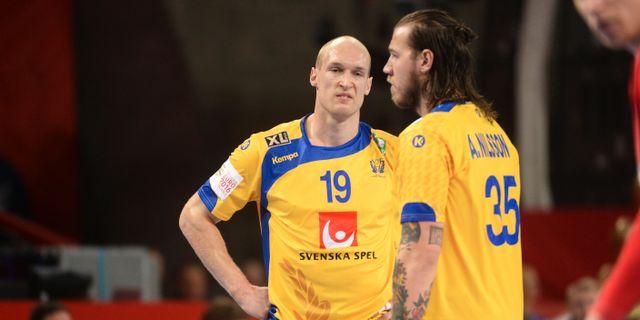 Johan Jakobsson och Andreas Nilsson, arkivbild. Fredrik Sandberg/TT / TT NYHETSBYRÅN