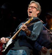 Eric Clapton under en konsert 2013. Charles Sykes / TT NYHETSBYRÅN