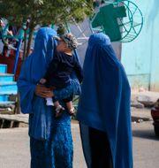 Arkivfoto från Kabul i maj. Mariam Zuhaib / TT NYHETSBYRÅN
