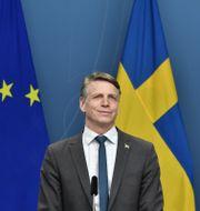 Per Bolund. Anders Wiklund/TT / TT NYHETSBYRÅN