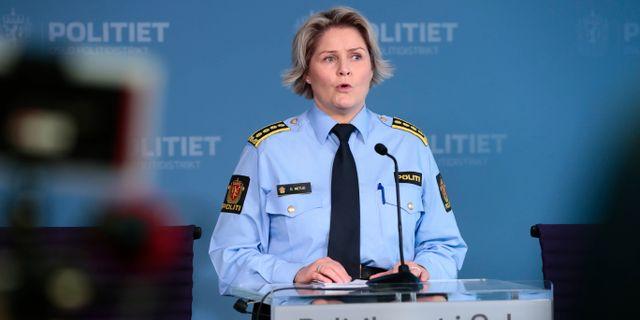 Grete Lien Metlid. Åserud, Lise / TT NYHETSBYRÅN