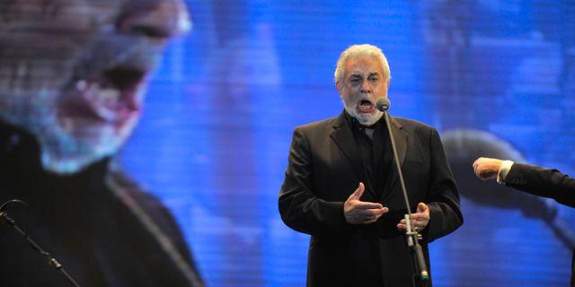 Placido Domingo. Jorge Araujo/AP