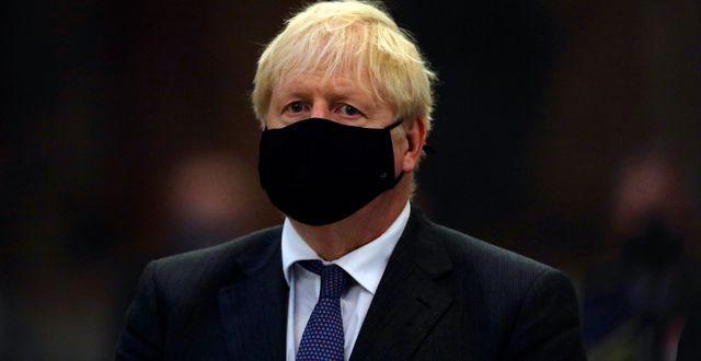 Boris Johnson. Aaron Chown / TT NYHETSBYRÅN