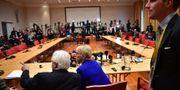 Förhandlingarna sker på Johannesbergs slott. Stina Stjernkvist/TT / TT NYHETSBYRÅN