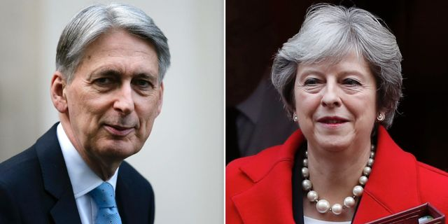 Philip Hammond/Theresa May  TT