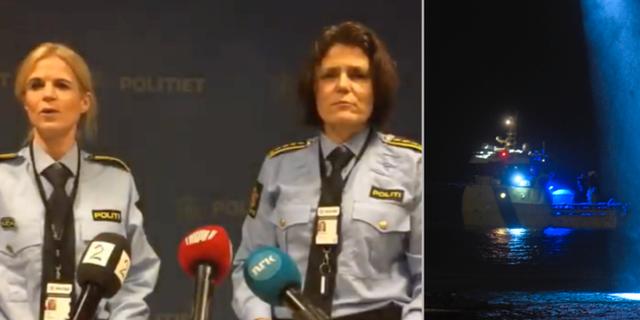 Presskonferens i Norge