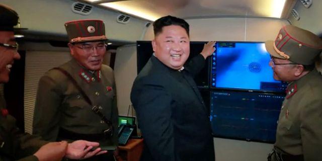 Nordkoreas ledare Kim Jong-Un. Arkivbild. KCNA / TT NYHETSBYRÅN