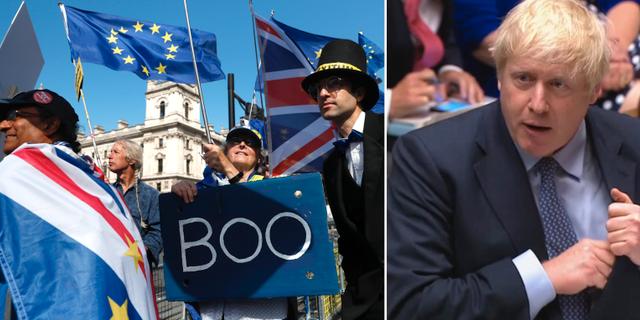 Boris Johnson.  AP