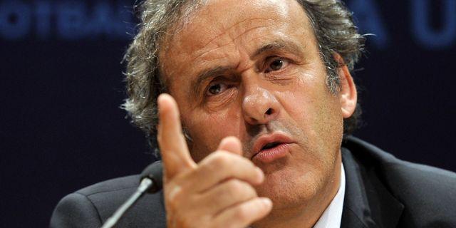 Michel Platini FABRICE COFFRINI / AFP