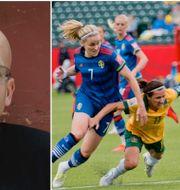Andreas Ekström / Sveriges landslag i närkamp med Australien TT
