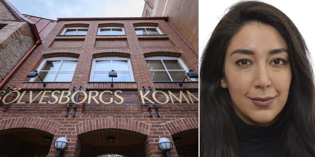 Sölvesborgs kommunhus / Lawen Redar (S), kulturpolitisk talesperson. TT/Riksdagen.