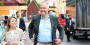 V-ledaren Jonas Sjöstedt under partiets dag i Almedalen i somras. Henrik Montgomery/TT / TT NYHETSBYRÅN