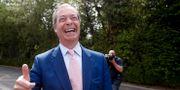 Nigel Farage, ledare för Brexitpartiet. Alastair Grant / TT NYHETSBYRÅN/ NTB Scanpix