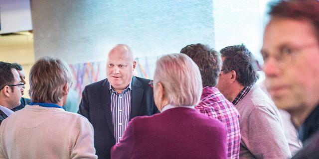 Trots kritiken: Fingerprint Cards insideråtalade storägare Johan Carlström blir ny ordförande. Här under förra årets stämma i Göteborg. Tomas Oneborg/SvD/TT / TT NYHETSBYRÅN