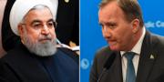Hassan Rouhani/Stefan Löfven. TT
