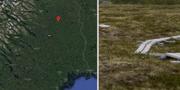 29-åringen hittades nedgrävd i en myr utanför Parakka.  Google Maps/TT