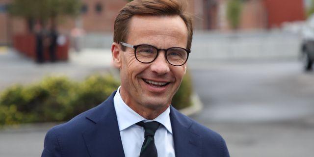 Ulf Kristersson (M)  Adam Ihse/TT / TT NYHETSBYRÅN