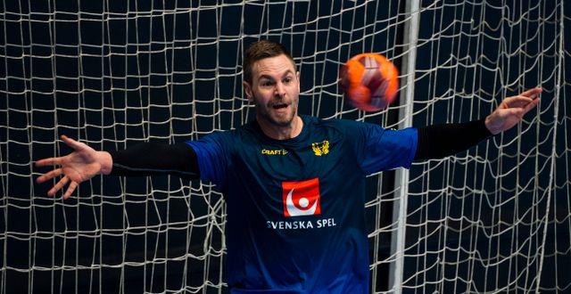 Andreas Palicka.  JONATHAN NÄCKSTRAND / BILDBYRÅN