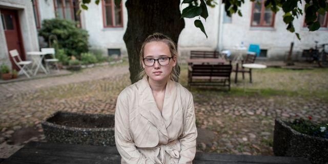 Elin Ersson. Arkivbild. TT NYHETSBYRÅN