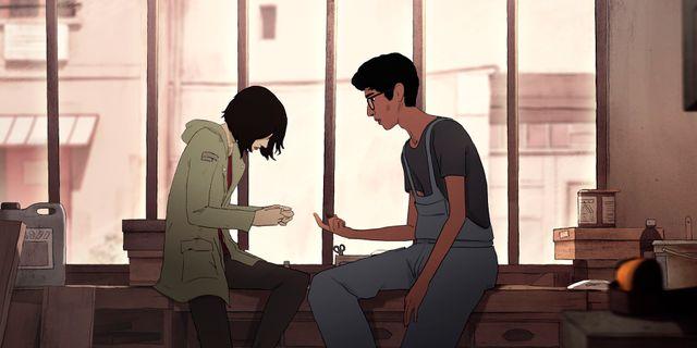 """Bild från Netflix-filmen """"I Lost My Body"""". TT NYHETSBYRÅN"""