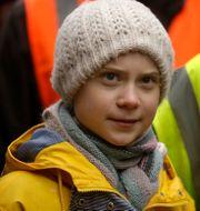 Greta Thunberg. Matt Dunham / TT NYHETSBYRÅN
