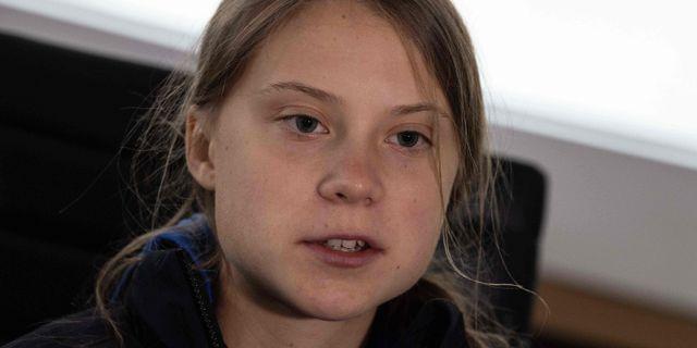 Greta Thunberg NICHOLAS KAMM / AFP
