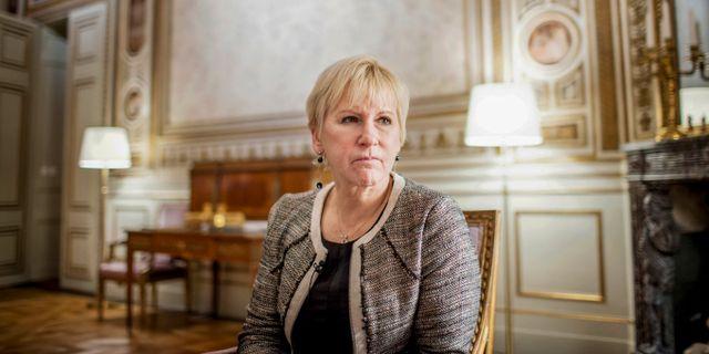 Margot Wallström. Linus Sundahl-Djerf/TT / TT NYHETSBYRÅN