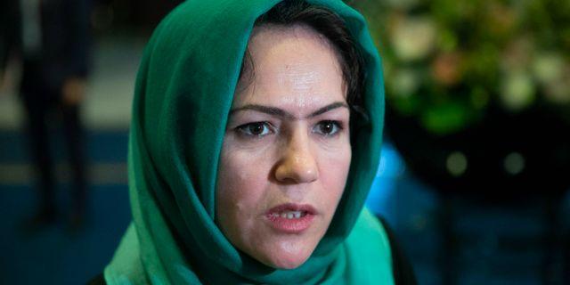 Den afghanska parlamentsledamoten och kvinnorättsaktivisten Fawzia Koofi  Pavel Golovkin / TT NYHETSBYRÅN