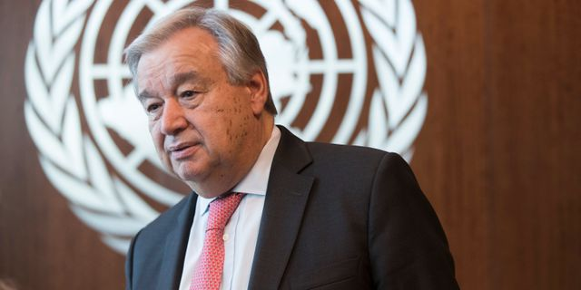 António Guterres. Mary Altaffer / TT NYHETSBYRÅN