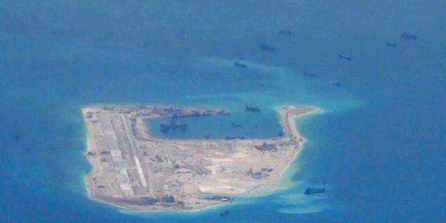 Kina far satellitbilder av usa